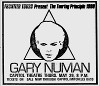 Gary Numan Fort Lauderdale Press 09.05.1980